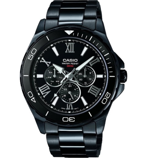 Casio Collection MTD-1075BK-1A1