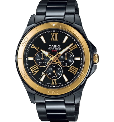 Casio Collection MTD-1075BK-1A9