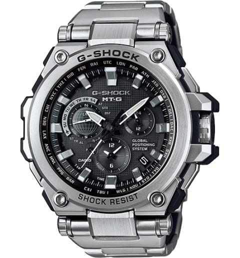 Casio G-Shock MTG-G1000D-1A с GPS