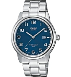 Casio Collection MTP-1221A-2A с синим циферблатом