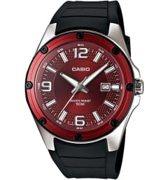 Casio Collection MTP-1346-5A с красным циферблатом
