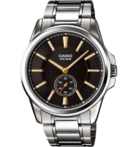 Дешевые часы Casio Collection MTP-E101D-1A1