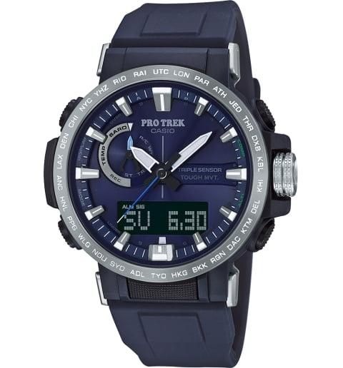 Часы Casio PRO TREK PRW-60-2A с термометром