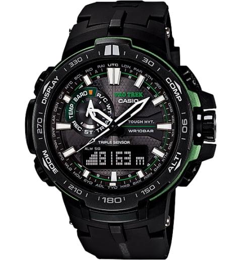 Часы Casio PRO TREK PRW-6000Y-1A с термометром