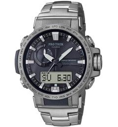 Часы Casio PRO TREK PRW-60T-7A с титановым браслетом