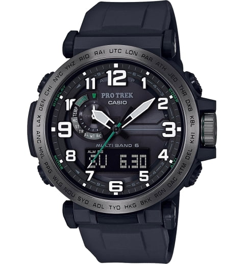 Часы Casio PRO TREK PRW-6600Y-1E с термометром