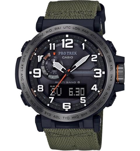 Часы Casio PRO TREK PRW-6600YB-3E с термометром