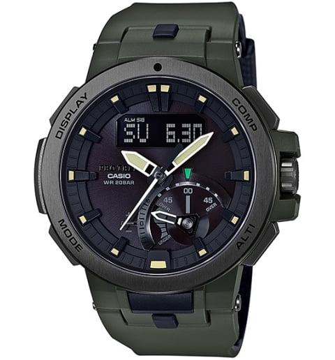 Карбоновые часы Casio PRO TREK PRW-7000-3E