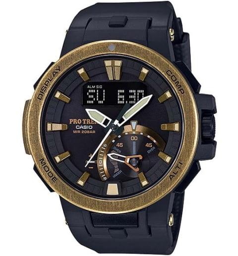 Карбоновые часы Casio PRO TREK PRW-7000V-1E