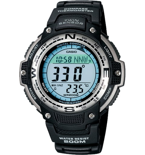 Casio Outgear SGW-100-1V с термометром