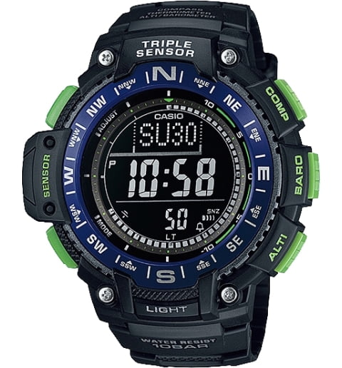Casio Outgear SGW-1000-2B с термометром