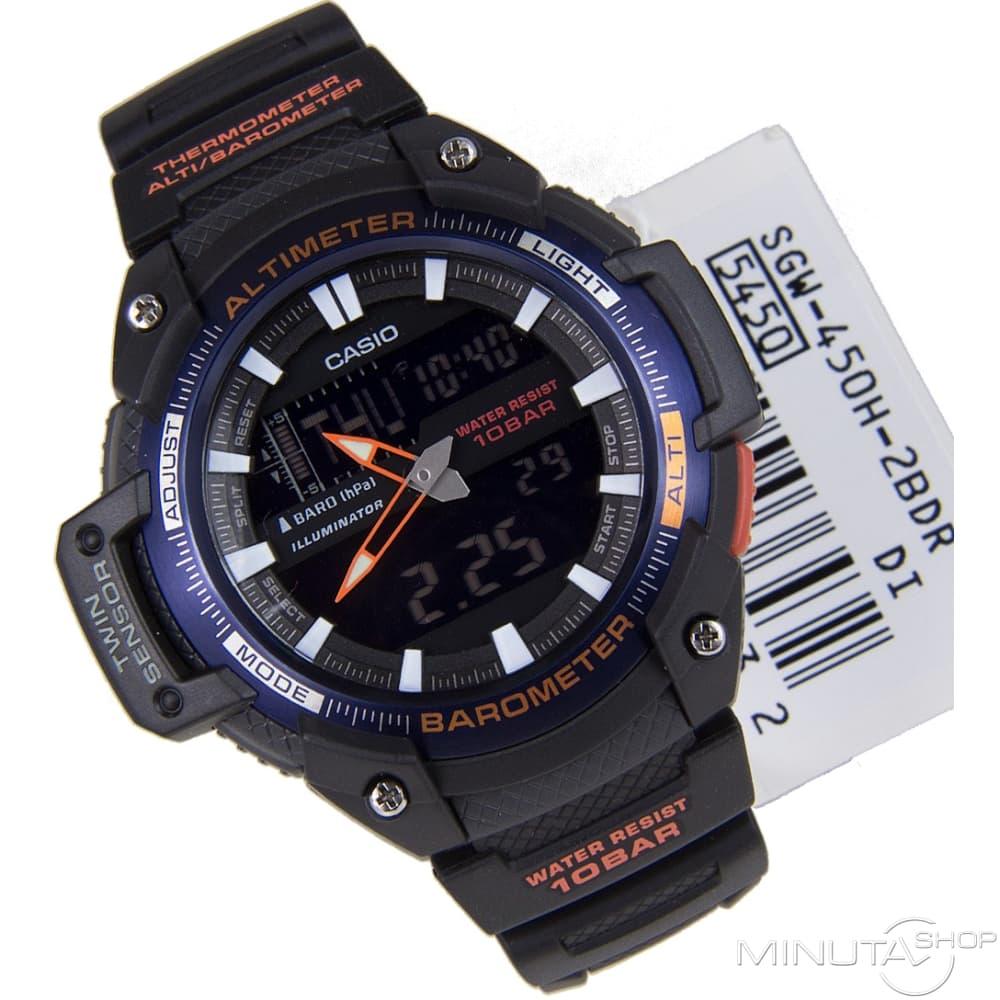 Мужские часы casio protrek sgw 450h 2b отзывы