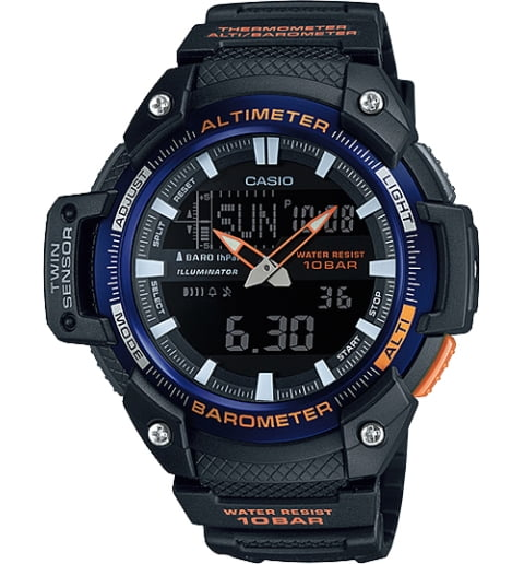 Часы Casio Outgear SGW-450H-2B с термометром