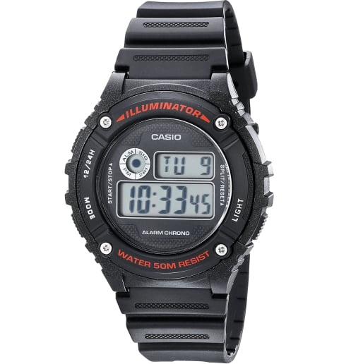 Casio Collection W-216H-1B