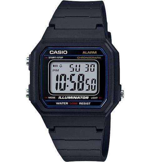 Дешевые часы Casio Collection W-217H-1A