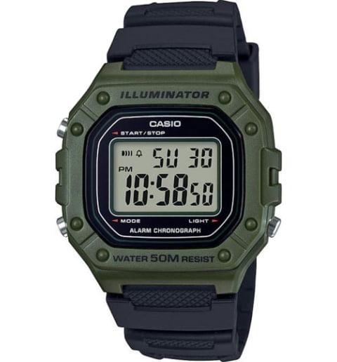 Дешевые часы Casio Collection W-218H-3A