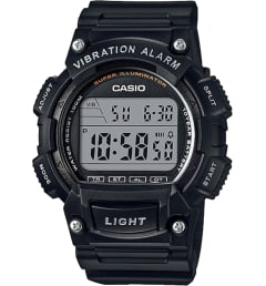 Casio Collection W-736H-1A с вибрацией