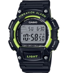 Casio Collection W-736H-3A с вибрацией