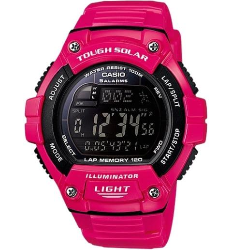 Дешевые часы Casio Sport W-S220C-4B