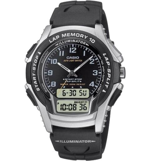 Дешевые часы Casio Sport WS-300-1B