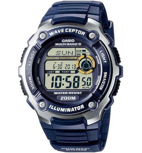 Дешевые часы Casio WAVE CEPTOR WV-200E-2A