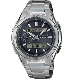 Часы Casio WAVE CEPTOR WVA-M650TD-1A с титановым браслетом