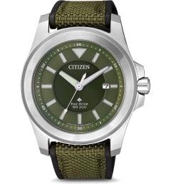 Часы Citizen BN0211-09X с текстильным браслетом