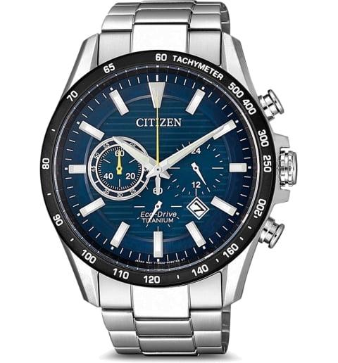 Часы Citizen CA4444-82L с титановым браслетом