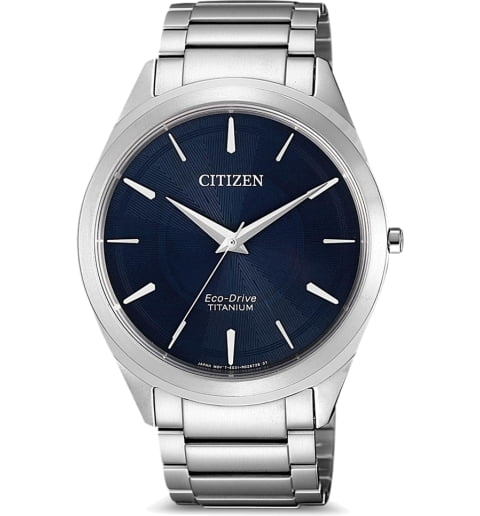 Часы Citizen BJ6520-82L с титановым браслетом