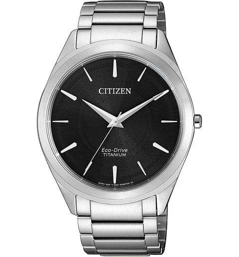 Часы Citizen BJ6520-82E с титановым браслетом
