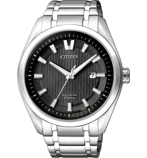 Часы Citizen AW1240-57E с титановым браслетом