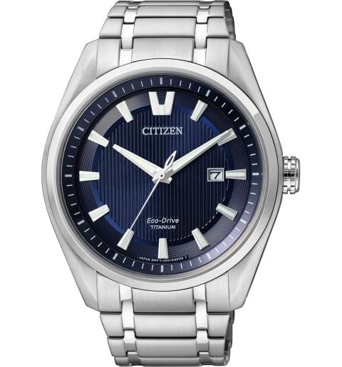 Часы Citizen AW1240-57L с титановым браслетом