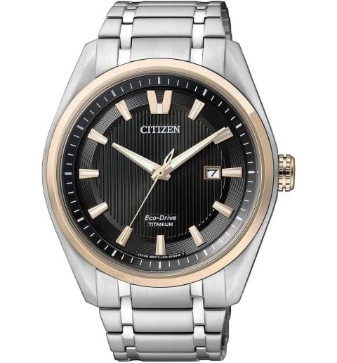 Часы Citizen AW1244-56E с титановым браслетом