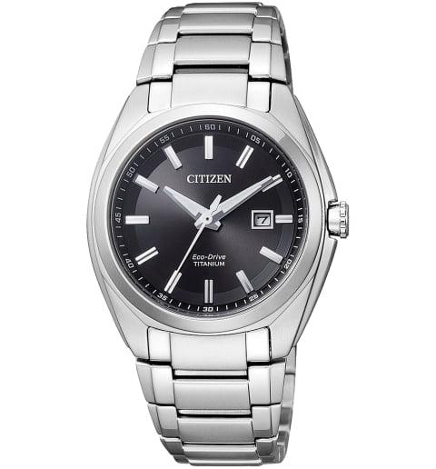 Часы Citizen EW2210-53E с титановым браслетом