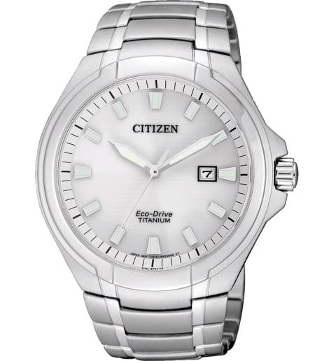 Часы Citizen BM7430-89A с титановым браслетом