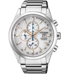 Часы Citizen CA0650-82B с титановым браслетом
