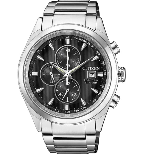 Часы Citizen CA0650-82F с титановым браслетом