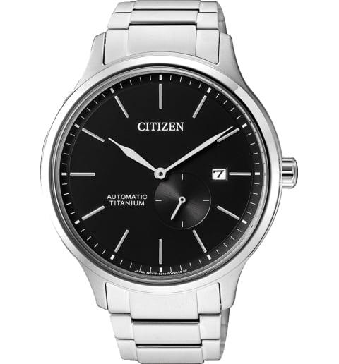 Часы Citizen NJ0090-81E с титановым браслетом