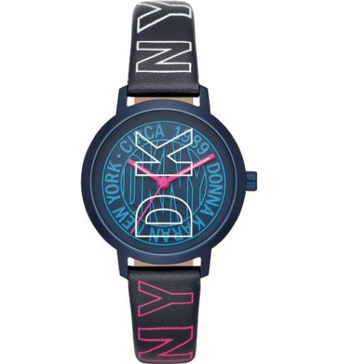 DKNY NY2818 с кожаным браслетом