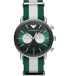 Emporio Armani AR11221 с зеленым циферблатом