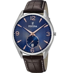Festina F6857/8 с синим циферблатом