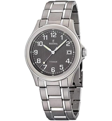 Часы Festina F16458/2 с титановым браслетом