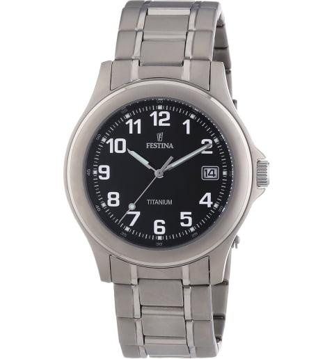 Часы Festina F16458/3 с титановым браслетом