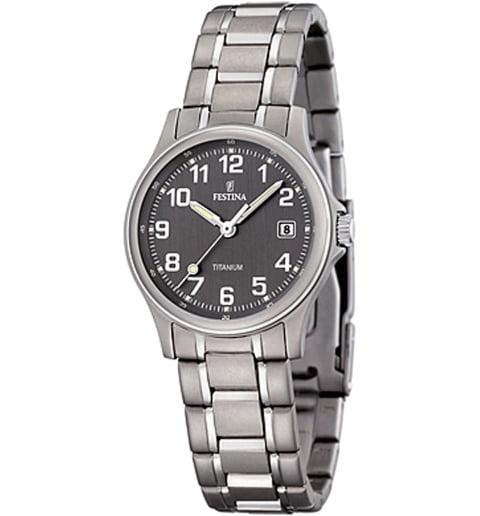 Часы Festina F16459/2 с титановым браслетом