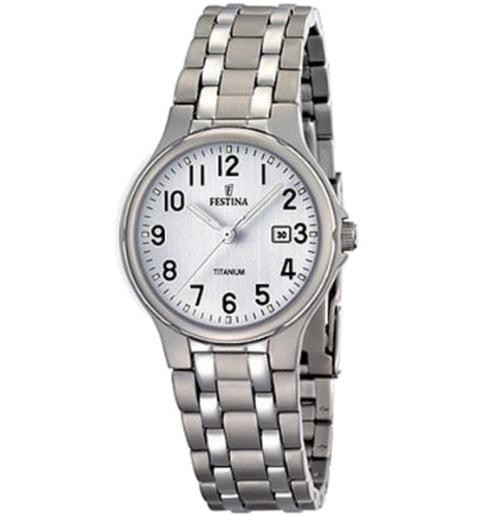 Часы Festina F16461/1 с титановым браслетом