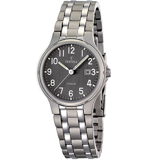 Часы Festina F16461/2 с титановым браслетом