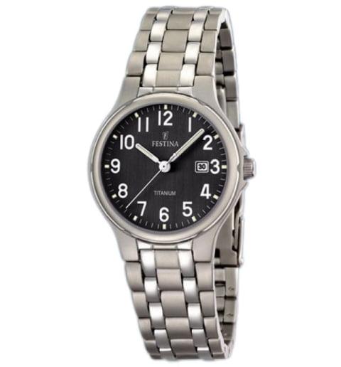 Часы Festina F16461/3 с титановым браслетом