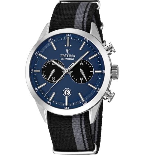 Часы Festina F16827/2 с текстильным браслетом