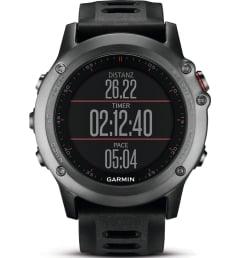 Garmin Fenix 3 Grey с черным ремешком без нагрудного пульсометра (010-01338-01) с GPS