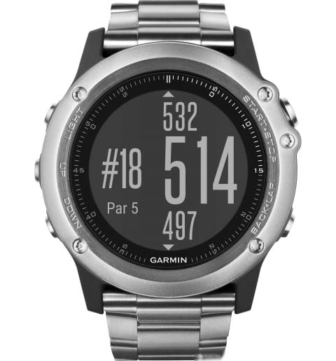 Garmin Fenix 3 Sapphire Titanium с титановым браслетом (010-01338-41) с GPS